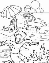 Weather Summer Coloring Pages 123coloringpages sketch template