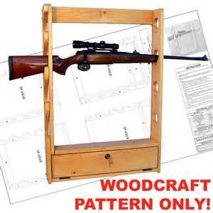 locking gun rack plans furnitureplans