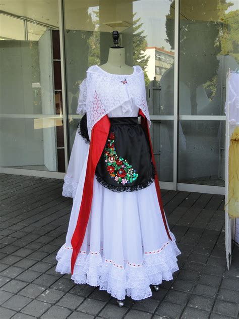 Vestido Tipico de Veracruz México / Traditional Veracruz