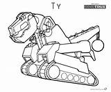 Dinotrux Coloring Pages Ty Printable Running Colorings Getdrawings sketch template