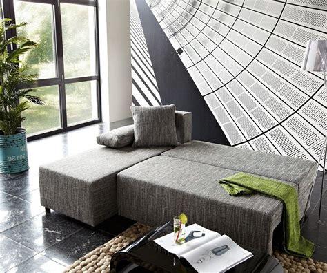 ecksofa janelle 200x155 grau mit schlaffunktion variabel m 246 bel sofas ecksofas