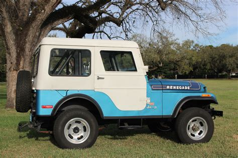 jeep cj renegade 1975 jeep cj 5 renegade 304 v8 levi edition 35 868