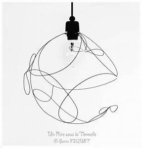 Suspension Fil De Fer : luminaire suspension en fil de fer l g ret libellules luminaires par un rire sous la ~ Teatrodelosmanantiales.com Idées de Décoration