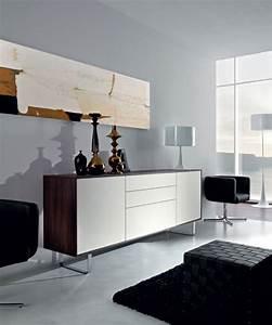 Mobilier Bois Design : meuble salon design meuble tv suspendu bois maisonjoffrois ~ Melissatoandfro.com Idées de Décoration
