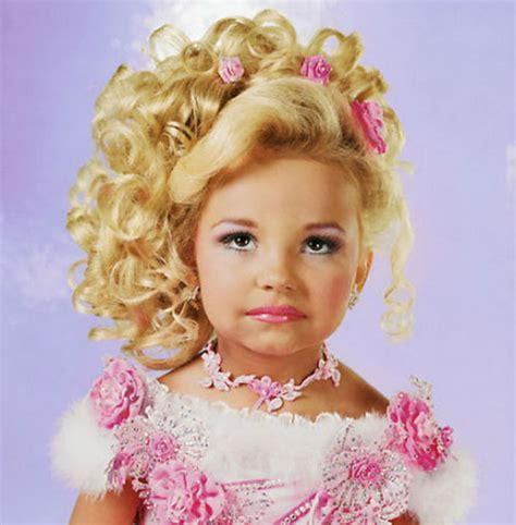 Pics Of Pageant Hairstyles for Little Girls   Trendy