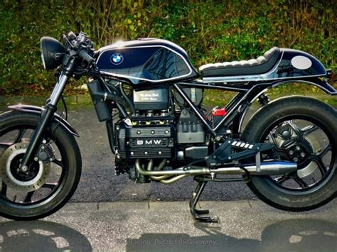 bmw k100 umbau bmw k75 cafe racer umbau quot the flying brick quot by rk racing