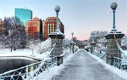 Boston Winter Massachusetts Inverno Wonderland Fazer Northampton