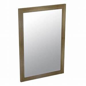 Spiegel Holzrahmen Eiche : larita spiegel 50x75x2cm eiche eiche graphite ~ Indierocktalk.com Haus und Dekorationen