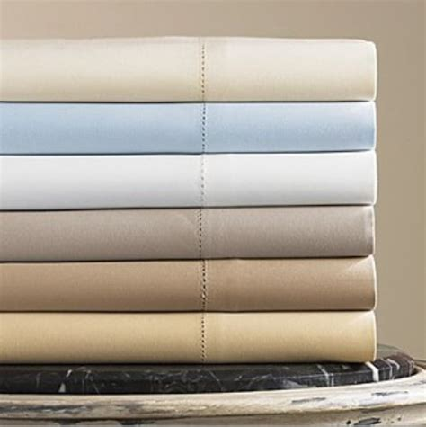 hudson park 600 tc solid king fitted sheet pale bronze