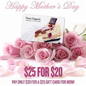 Mother's Day Special! $25 Gift Card for $20