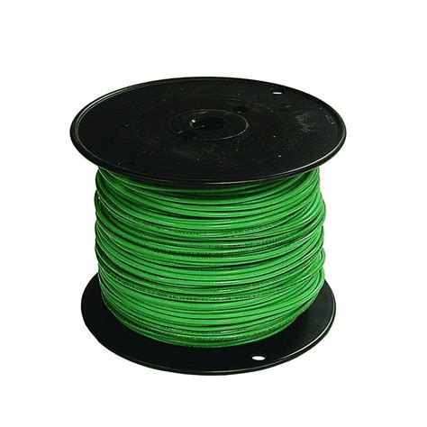 southwire 500 ft 6 green stranded cu thhn wire 20497401 the home depot