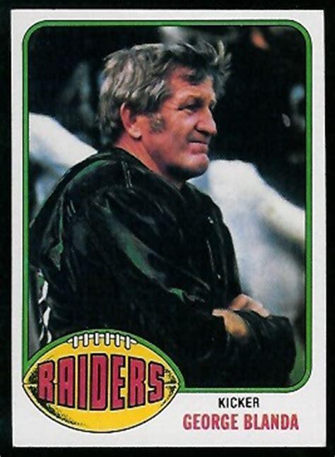george blanda  topps  vintage football card