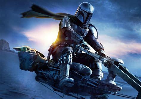 Baby Yoda y Mando surcan Tatooine en el nuevo cartel de la ...