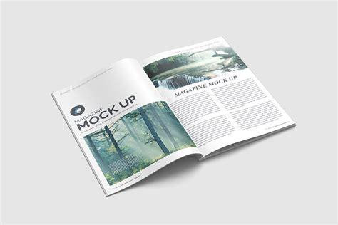 Magazine Mockup Magazine Mockup