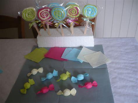 des bonbons avec des serviettes en papier elodie