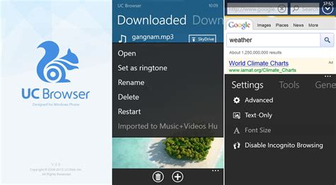 uc browser 2 8 1 arrives on windows phone