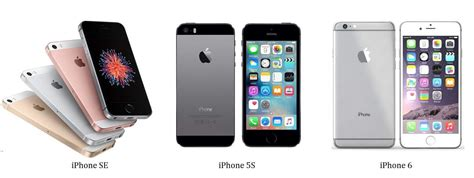 iphone 5s vs iphone 6 apple iphone se vs iphone 5s vs iphone 6 comparison
