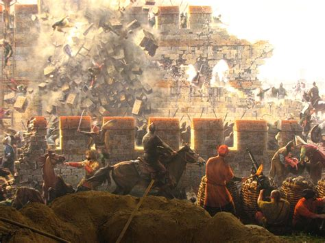 The Ottoman Turks by Ottoman Turks Besieging Constantinople Byzantine War
