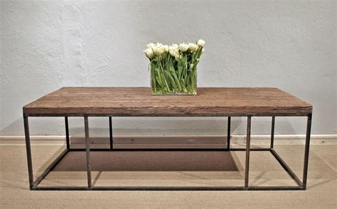 Coffee Table Steel Frame In Custom Made Steel Frame Tables