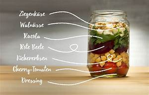 Salatbox Zum Mitnehmen : salat im glas wir zeigen dir wie du im handumdrehen den ~ A.2002-acura-tl-radio.info Haus und Dekorationen