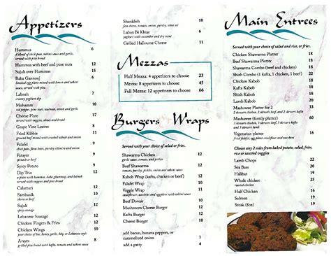 mediterranean cuisine menu gregg mediterranean restaurant menu urbanspoon zomato