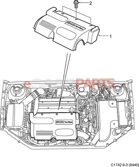 saab 9 3 engine bay engine diagram and wiring diagram
