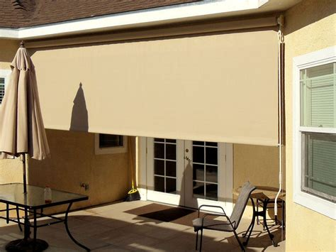 patio roller shades outdoor curtains drapes and roller shades superior awning