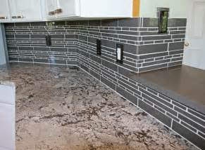 kitchen backsplash glass kitchen backsplash ideas glass tile afreakatheart
