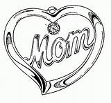 Coloring Heart Pages Hearts Printable Mom Mothers Sheets Happy Mother Super Valentines Gift Pendant Colouring Teenagers Getcoloringpages Everfreecoloring sketch template