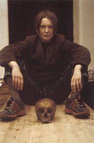 Sarah Lucas Self Portrait with Skull