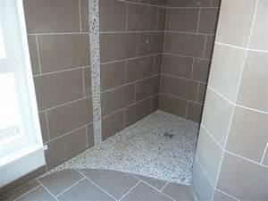 modele de douche italienne carrelee idees deco salle de bain With modele de salle de bain avec douche italienne