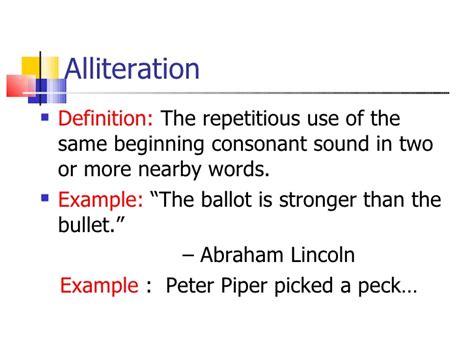 definition alliteration