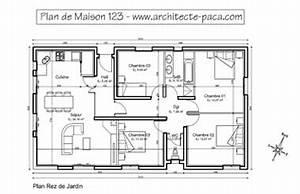 plan maison plain pied 123 plan niveaux avec mesure With plans de maison gratuit 5 maison darchitecte 2 detail du plan de maison d