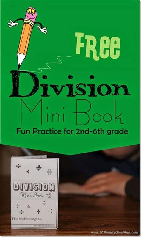 division mini book  homeschool deals