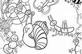 Coloring Insect Pages Bugs Printable Bug Printables 30seconds Fun Mom sketch template