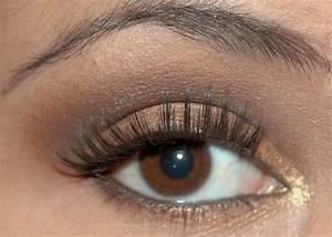 Maquillage Pour Yeux Marron : maquillage yeux marron comment rendre vos yeux sublimes ~ Carolinahurricanesstore.com Idées de Décoration