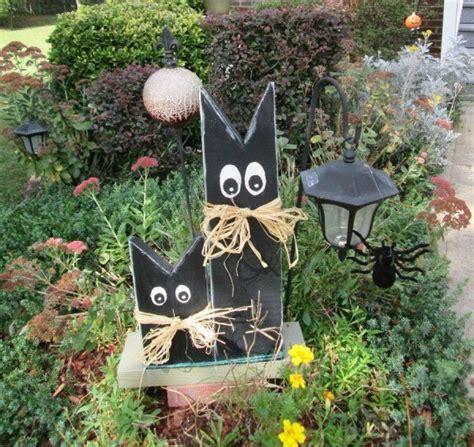 scrap wood halloween decorations thriftyfun