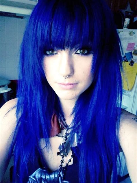 Hair Blue by Gahhh I Everything About Hair The Color The Cut