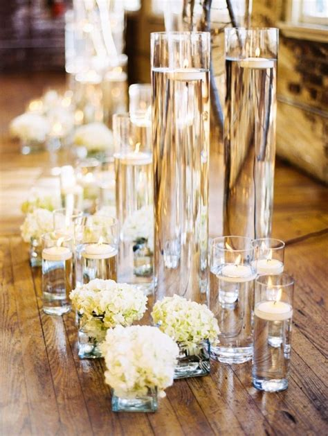 images  floating candle centerpieces