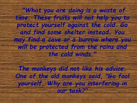 Story Of Bird And Monkey