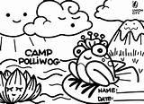 Coloring Arts Polliwog Union sketch template