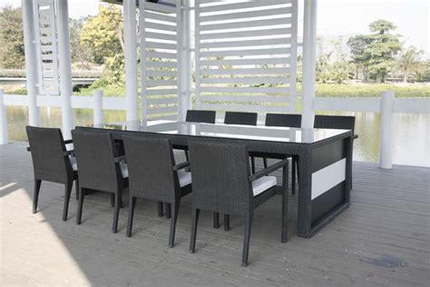 table et chaise exterieur dining chaises et table à manger extérieur kähres