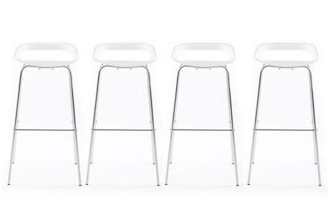 chaise cuisine noir tabouret bar blanc pas cher design en image