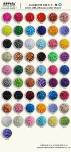 M 3mm Artkal Color Chart Artkal Beads Store