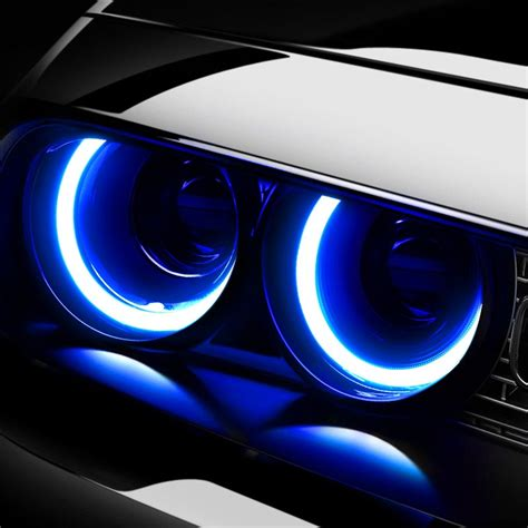 blue lights for cars lumen 174 plasma halo kit for headlights