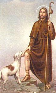 Saint Roch Patron Saint of Dogs
