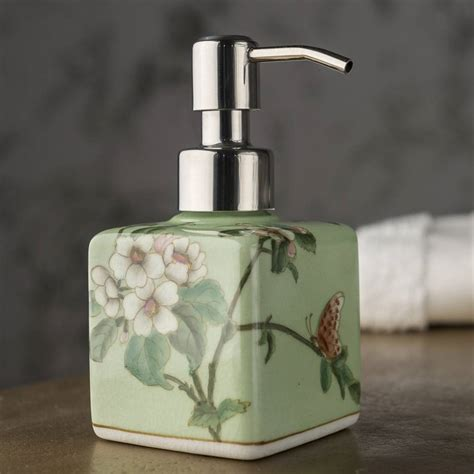 3311 square soap dispenser square painted soap dispenser by orchid