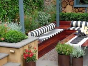 Bench Terracing by Dise 241 O De Jardines Peque 241 Os Y Modernos 50 Ideas