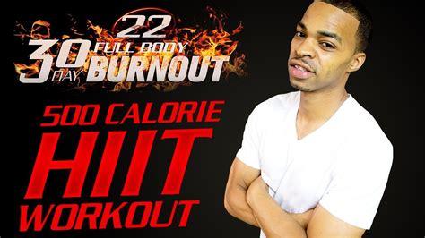 workout hiit calorie burn abs