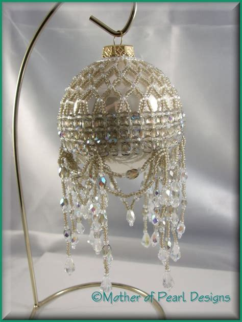 mother of pearl designs beaded and original christmas